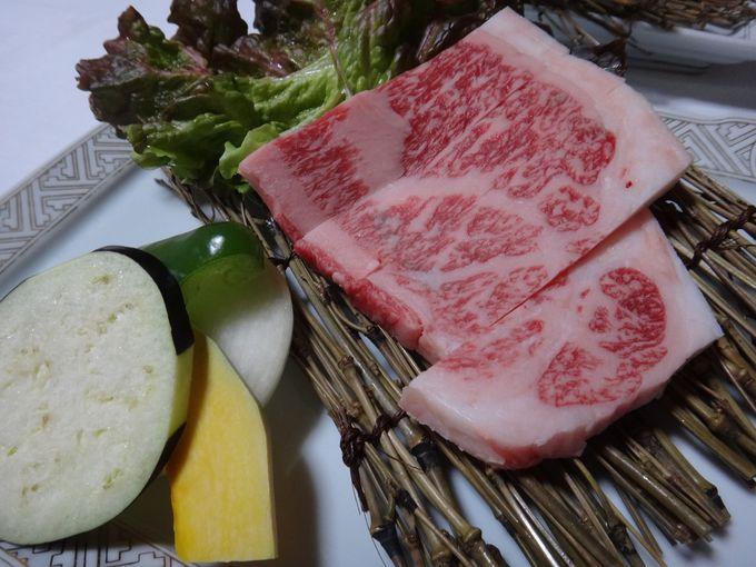 A5佐賀牛の夕食!