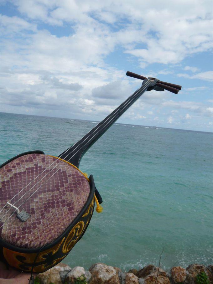 沖縄の文化に触れる「ゆんたく」タイム。