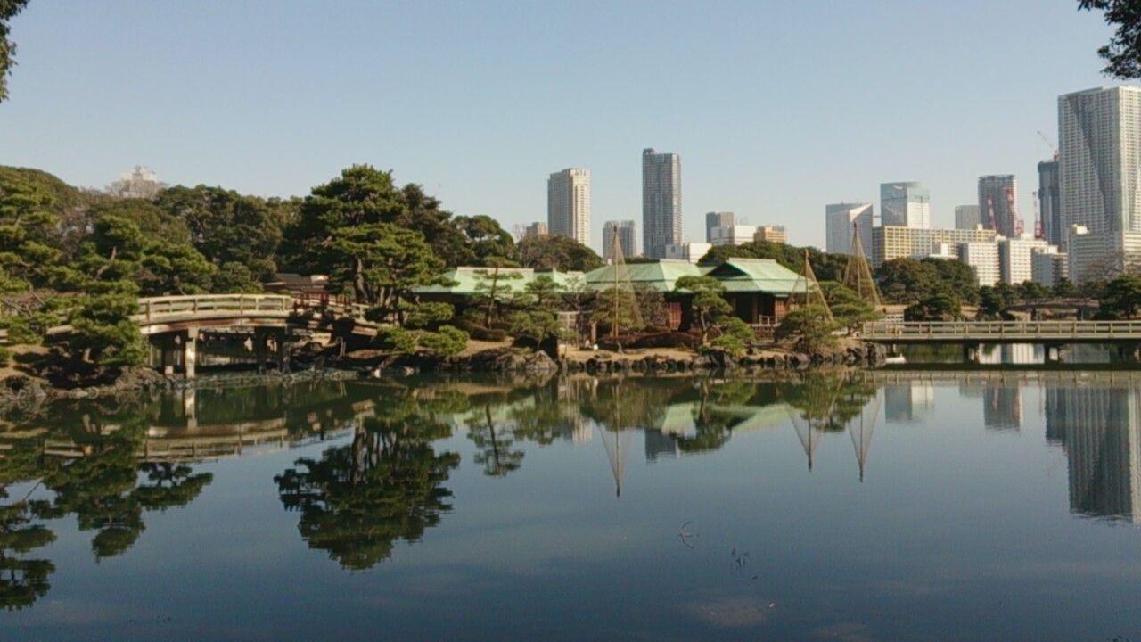 歩きながら移り変わる風景を楽しめる回遊式庭園