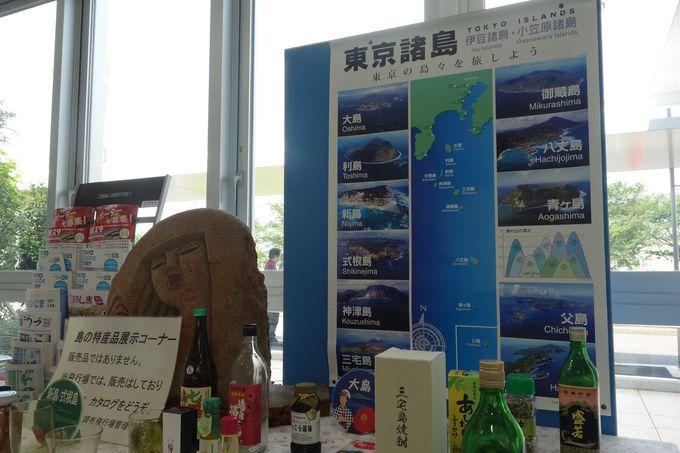 東京諸島の玄関口