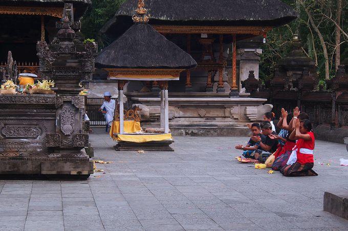 バリ・ヒンドゥー教徒の祈りの場