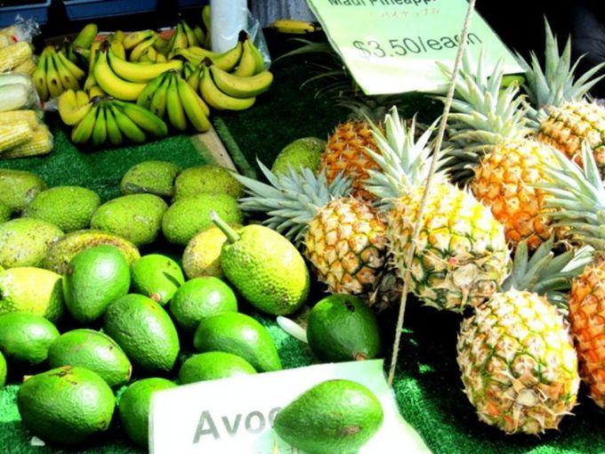 野菜や果物も美味しい!と大好評