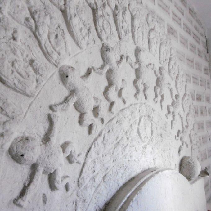 まるで塩の彫刻美術館