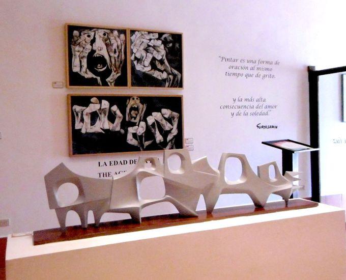 南米を代表するエクアドル人画家グアヤサミン美術館