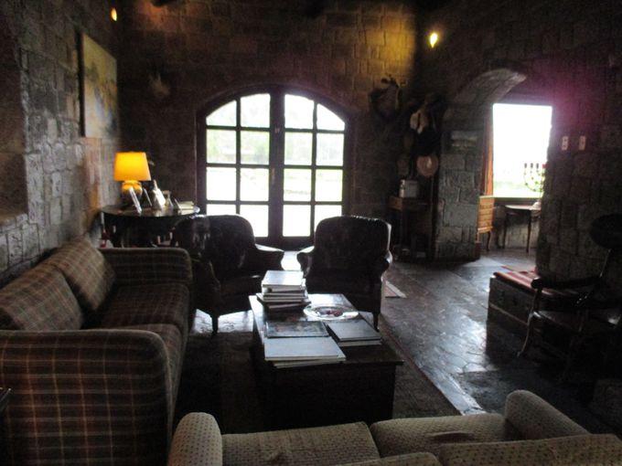 石造りの素敵なブティックホテル