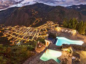 エクアドル・バニョス温泉「ルーナ・ランタン(月の城壁)」でアンデスの絶景を!