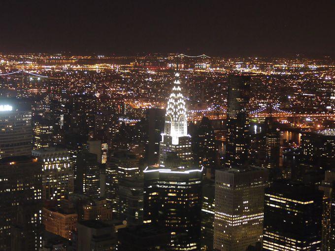 マンハッタンのシンボル、クライスラー・ビル