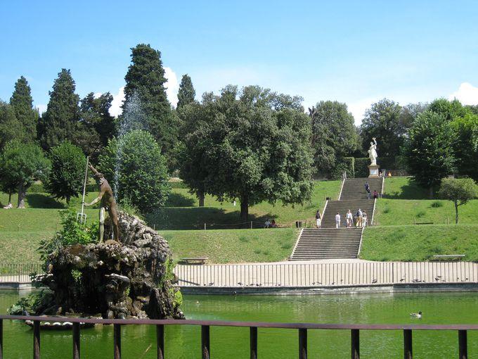 9.ボーボリ庭園