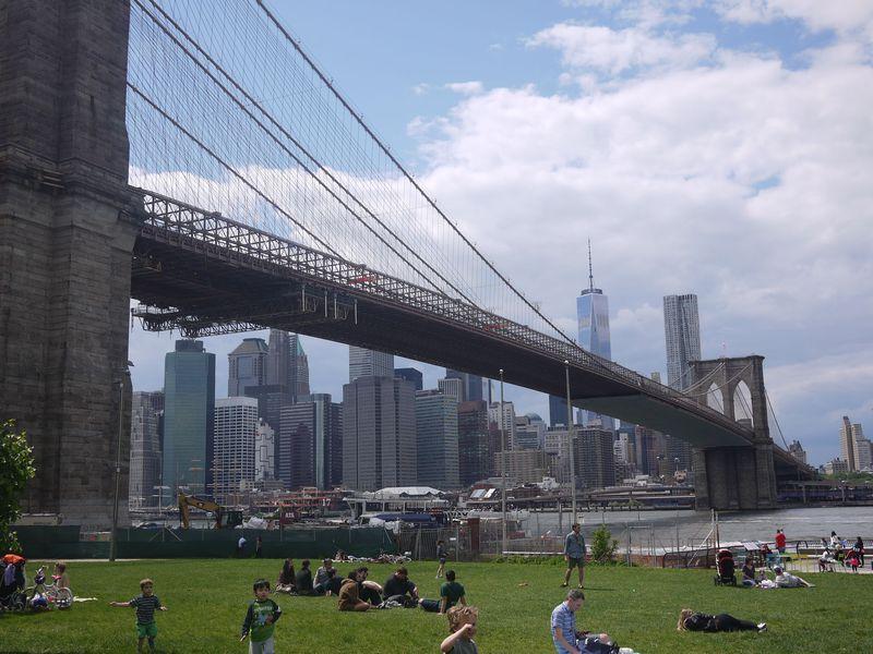 ニューヨーク・ブルックリン、どこに行けばあの写真が撮れるの?