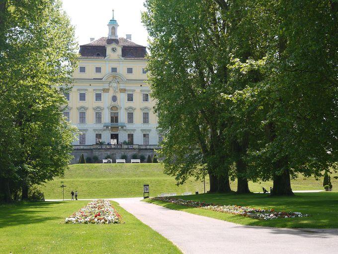 ドイツ最大のバロック式宮殿、ルートヴィヒスブルク城