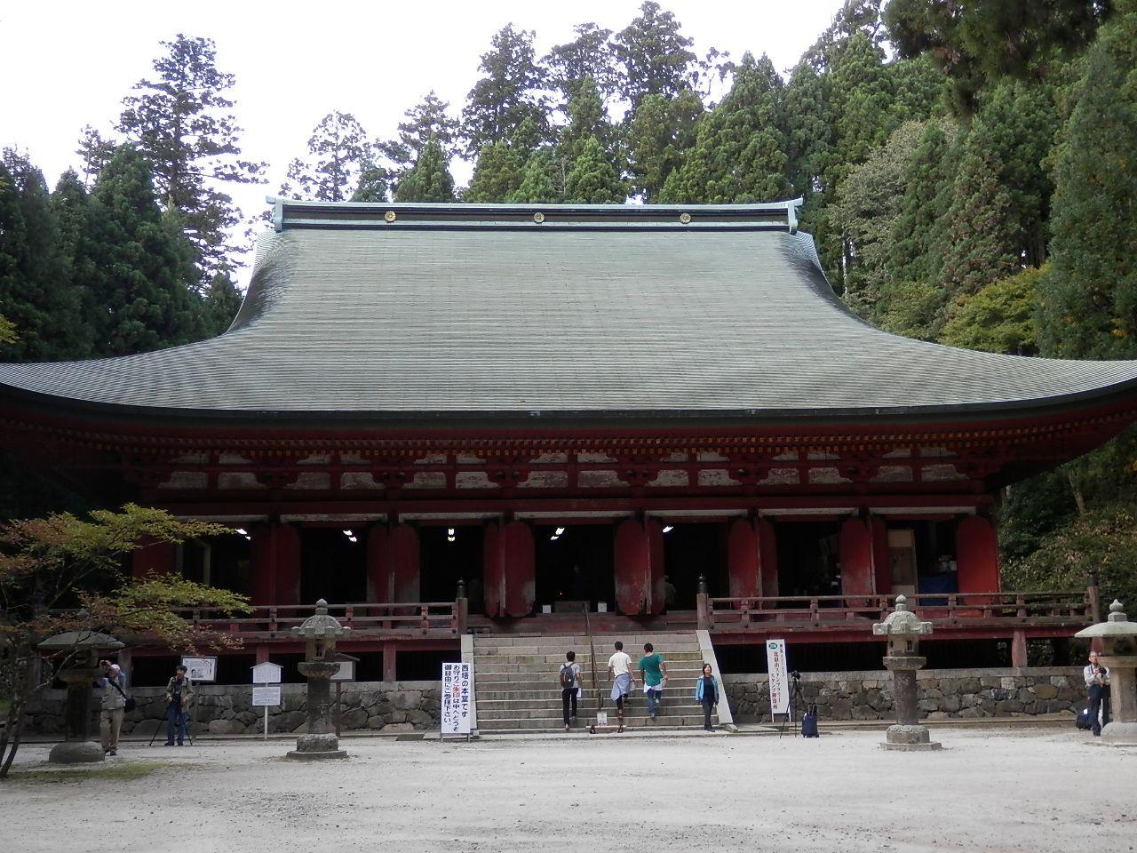 西塔エリア・比叡山で最も古い建造物「釈迦堂」
