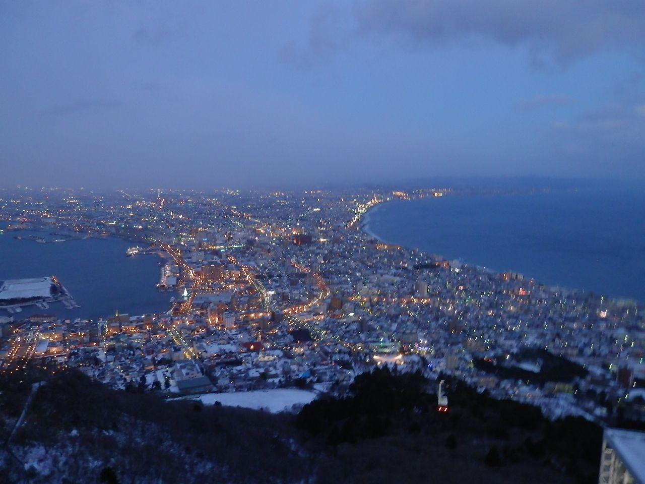 元町散策の最後はいよいよ函館山へ