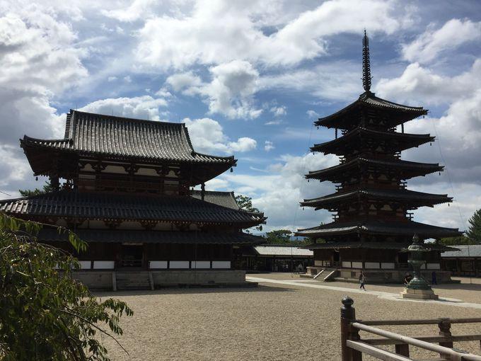 世界最古の木造建築「法隆寺」は日本初の世界遺産