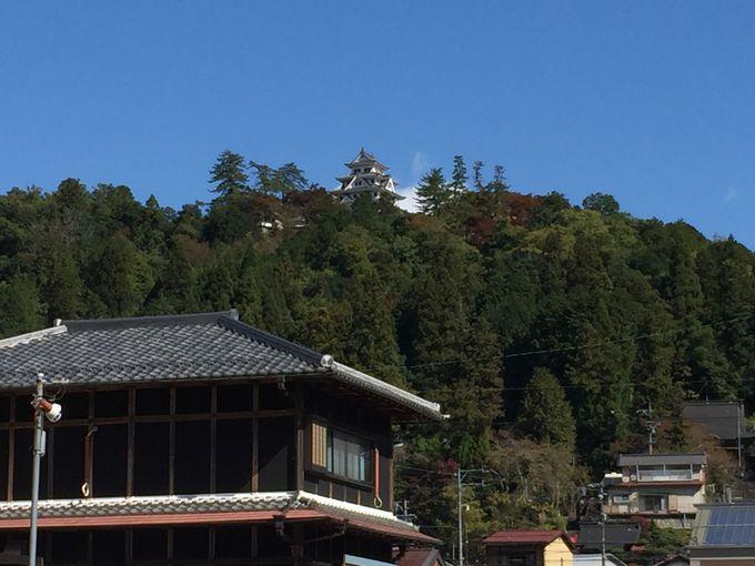 町のシンボル、日本一優美な山城「郡上八幡城」