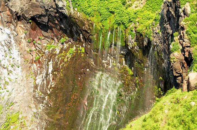 夏の水量が一番多いフレペの滝