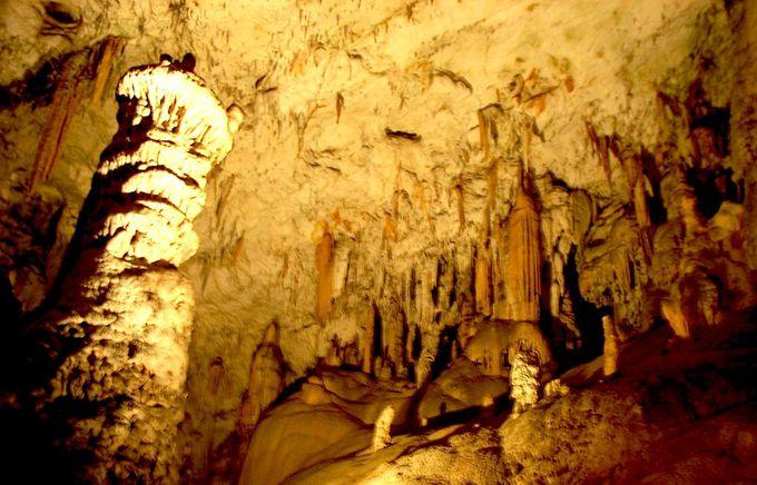 カルスト地形が育む地底の神秘「ポストイナ鍾乳洞」