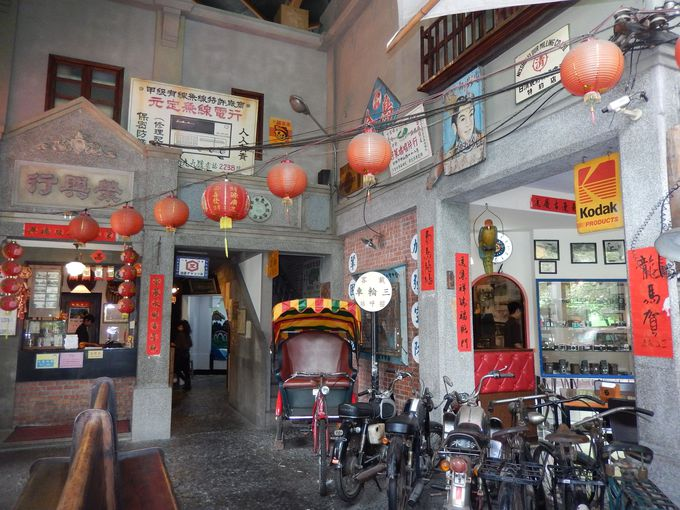 レトロ博物館?『台灣香蕉新楽園』