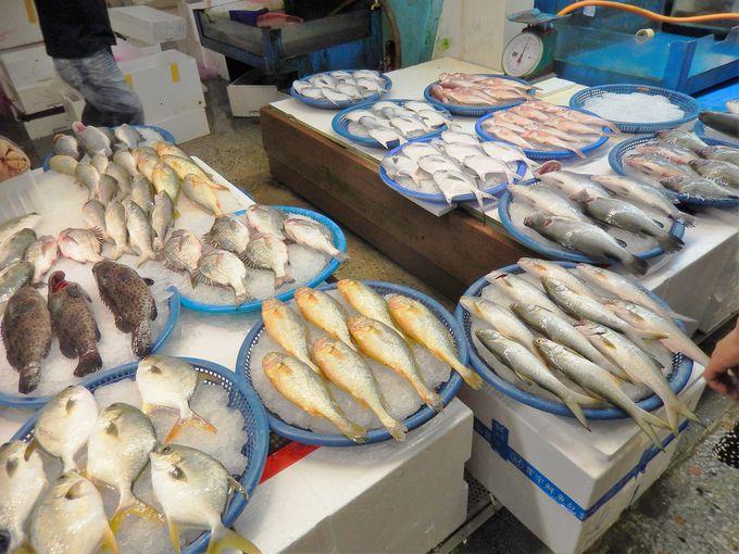 梧棲観光漁港で新鮮魚介に舌鼓!
