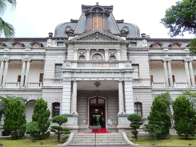 かつての「台湾総督官邸」