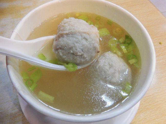 絶品の魚丸湯スープ