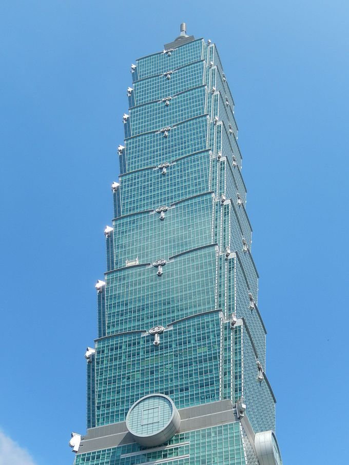 縁起がいい台北の最高峰ビル