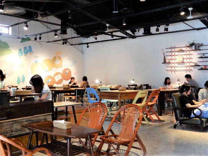 Made in TAIWANを発信するカフェ
