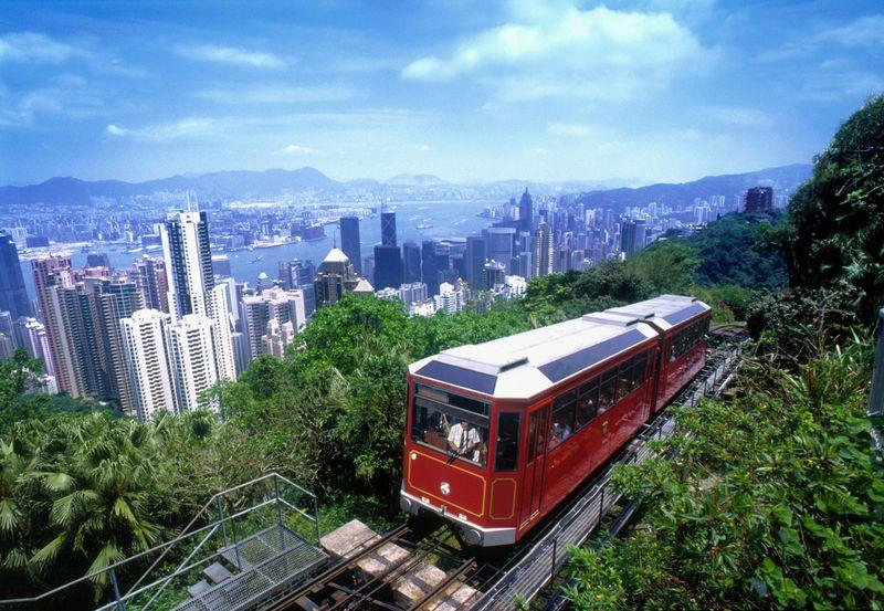 100万ドルの夜景を香港島最高峰で!ヴィクトリア・ピーク