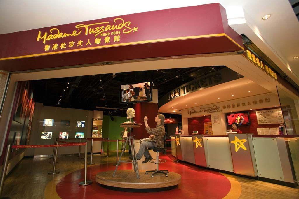 有名セレブと記念写真?香港マダムタッソー蝋人形館