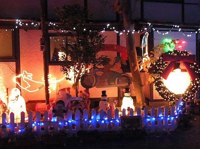 西洋館の館内装飾と併せて、山手の丘で素敵なクリスマスを!