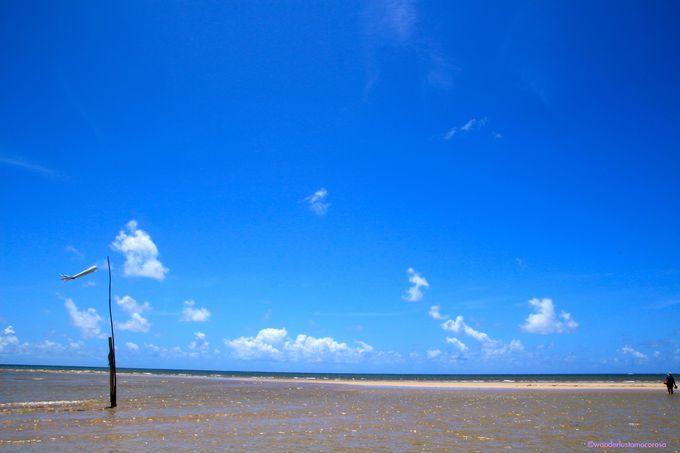 まだまだ続くNo.3ビーチの先にあるビーチへ