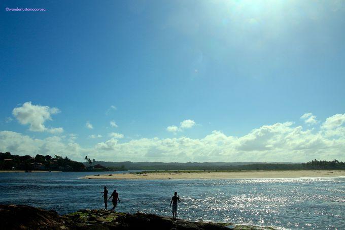 小さな町になんと全部で16のビーチが!