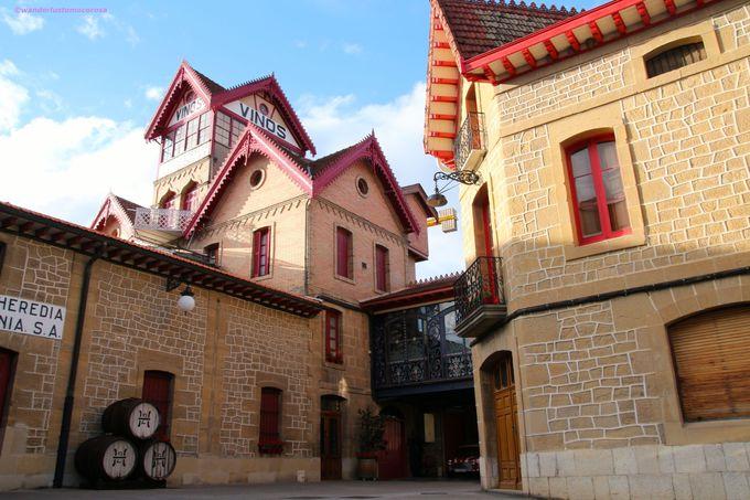建物がユニークな老舗ワイナリー「ロペス デ エレディア」