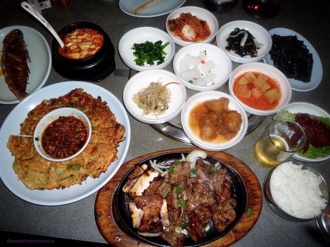 まるで韓国に迷い込んだかのよう。韓国料理激選区!