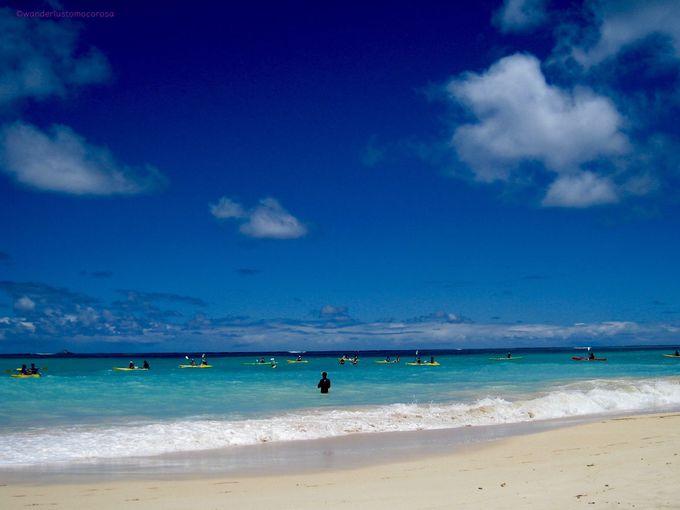 海のブルー度が高すぎる!カイルアとラニカイ ビーチ