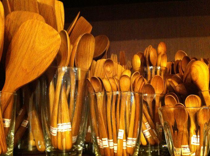 世界三大銘木チーク材のカトラリーは温かくて安心