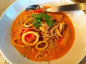 侮れないバンコクのカフェ飯!タイ人もすすめるトムヤムパスタは超絶品