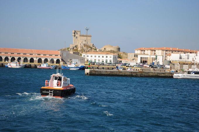 スペインのタリファは、のんびりとした港町