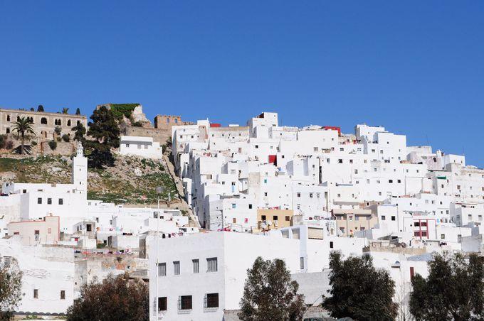 モロッコ最北部の世界遺産、テトゥアン旧市街