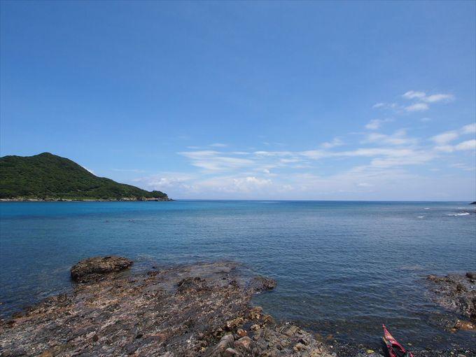 屋久島から流れる『水』と黒潮がもたらす美しい『海』を堪能する