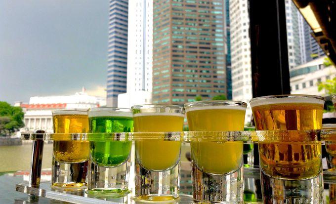 シンガポール・リバーを眺めながら「RedDot Brewhouse」