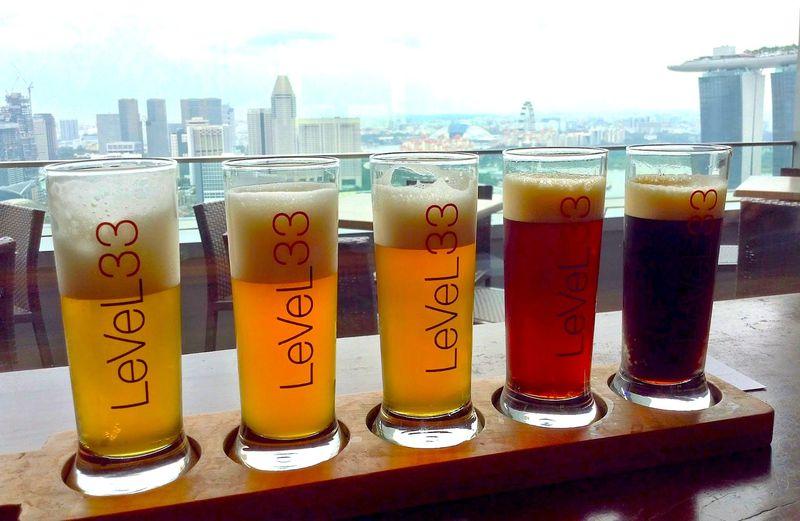 シンガポールは地ビール天国!喉の渇きをビールで癒やせ!