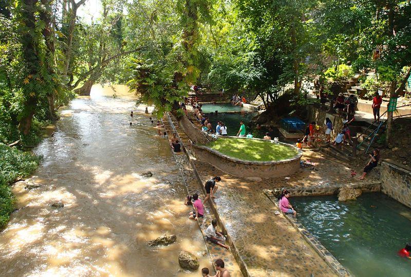 常夏の温泉!旧日本陸軍が掘当てた タイ「ヒンダート温泉」