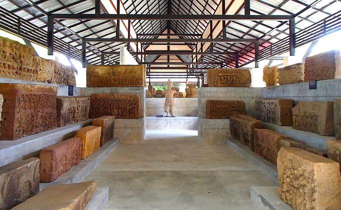 美しいレリーフを見るなら「ピマーイ国立博物館」へ