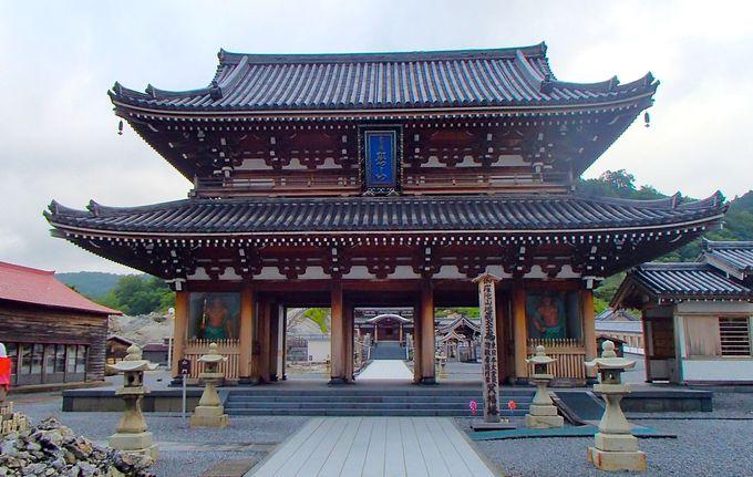 冬は深い雪に閉ざされる日本三大霊山「恐山菩提寺」