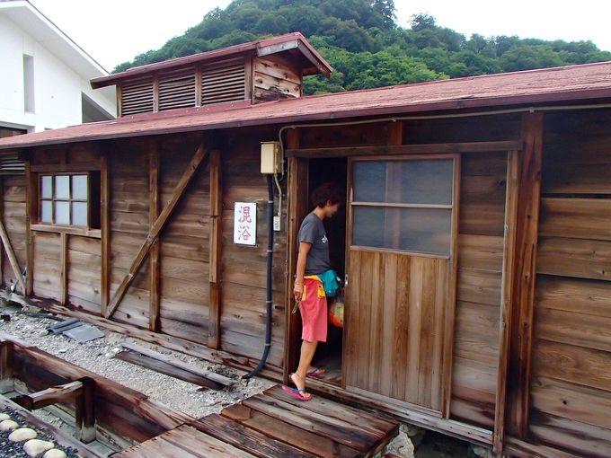4つの湯小屋で異なる効能を楽しめる「恐山温泉」
