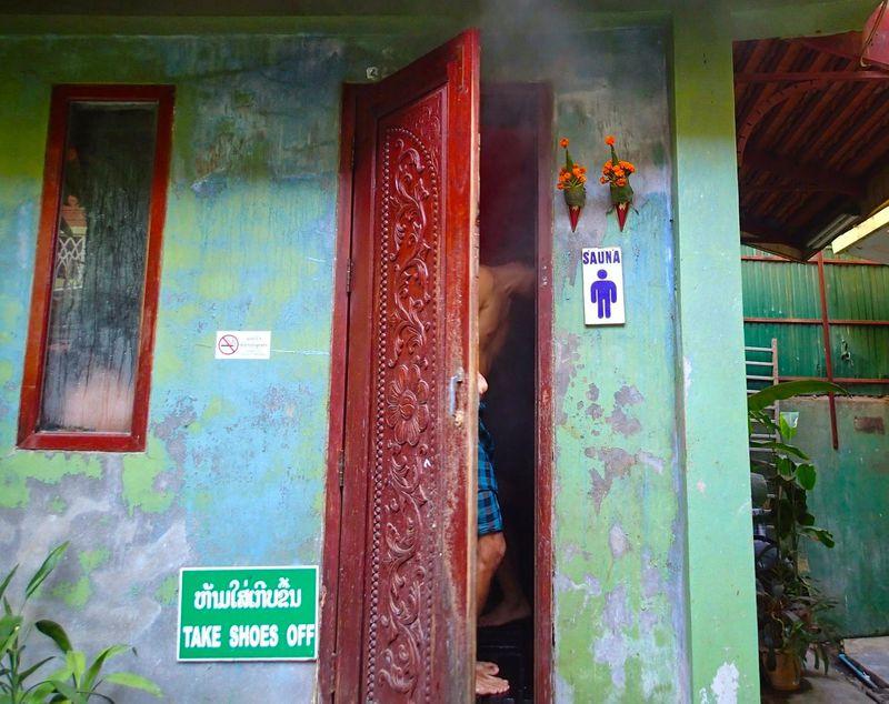 ラオス伝統「薬草サウナ」旅の疲れは落として美肌力アップ!