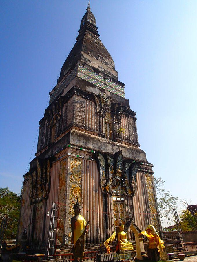 タイでも非常に珍しい「ワット・プラタート」もお忘れなく!