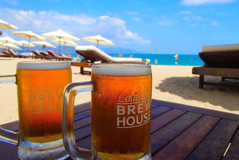 ベトナム・ビーチで地ビール!至福の「ルイジアナ・ブリューハウス」