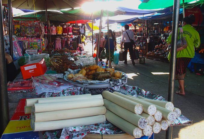 ラオス最大のマーケット「ノング・チャン市場」