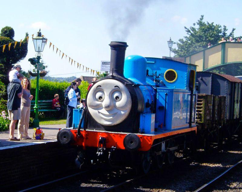「きかんしゃトーマス」に乗りたい!イギリス保存鉄道の旅